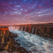 Selfoss, The Most Powerful Waterfall Of Europe, Iceland