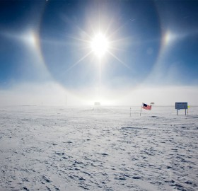 Summer At South Pole
