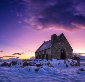 Church At Lake Tekapo, New Zealand
