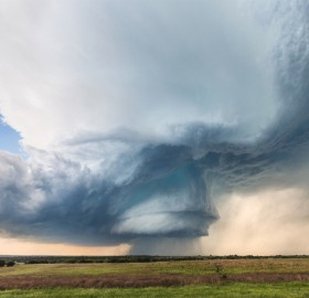 Hico Supercell In Texas