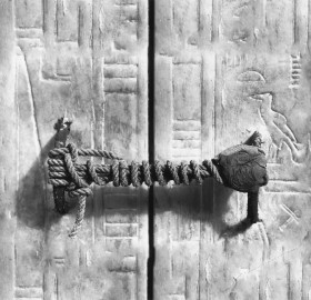 3245 Years Untouched Seal On Tutankhamun's Tomb