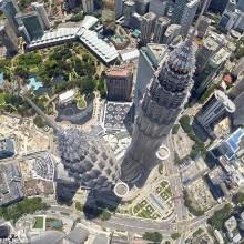 Kuala Lumpur From Above, Malaysia