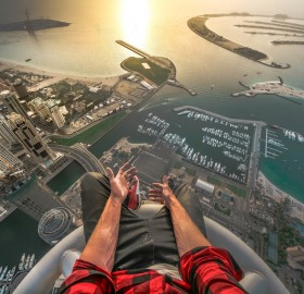 Top Of The Princess Tower In Dubai