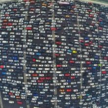 Rush Hour Traffic In China