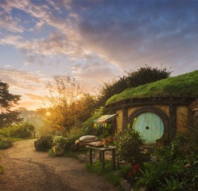 Sunrise At The Shire, New Zealand