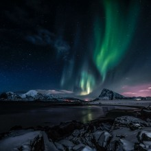 Amazing Photo of Aurora During Evening